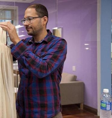 Joseph Aaron Segal, an adjunct professor at Rhode Island School of Design, creates fashion under the labels JAS  and Pretty Snake.