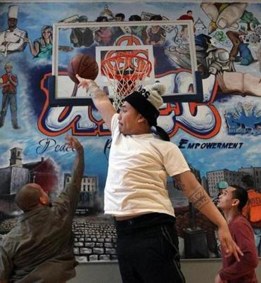 At programs like the United Teen Equality Center in Lowell, (participant Johnny Chheng is shown here), organizers hope to turn around the lives of young Cambodian Americans and others.