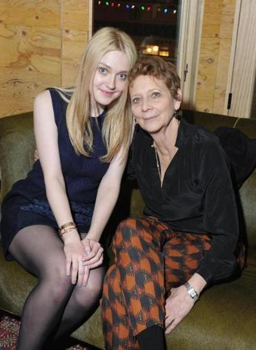 Dakota Fanning (left) and Naomi Foner at the Sundance festival.