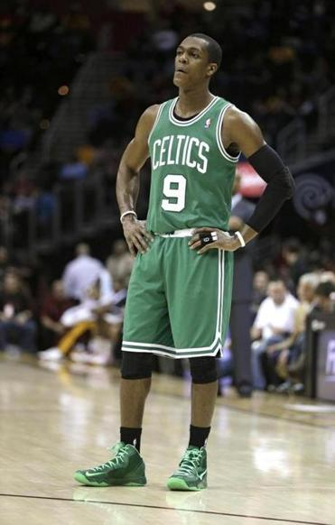 The Boston Celtics' Rajon Rondo.