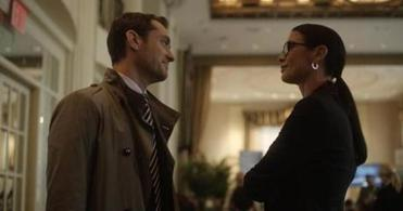 "Jude Law and Catherine Zeta-Jones play a pair of psychiatrists in the new Steven Soderbergh film ""Side Effects."" Soderbergh says the film may be the last he directs for quite a while."