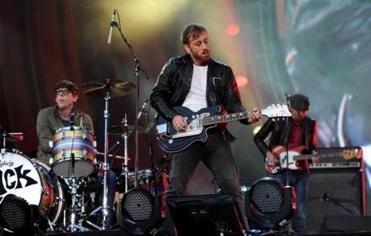 The Black Keys (Dan Auerbach, center, and drummer Patrick Carney) are Grammy nominees.