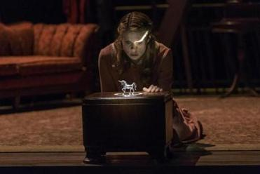 "Celia Keenan-Bolger in the ""Glass Menagerie."""