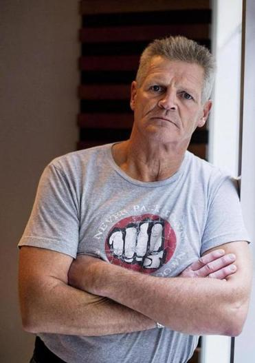 "Chris Nilan is featured in the film ""The Last Gladiators."""