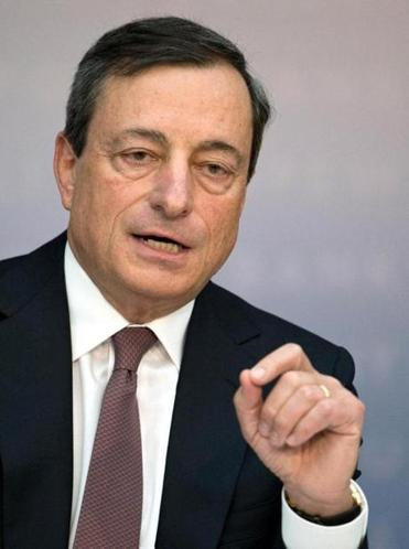 Mario Draghi pledges to monitor the euro closely.
