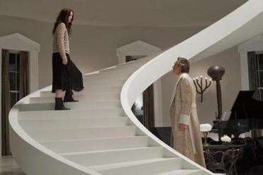 "Alice Englert and Jeremy Irons in ""Beautiful Creatures.''"