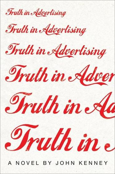 "Kenney's first novel, ""Truth in Advertising,"" was published in January."