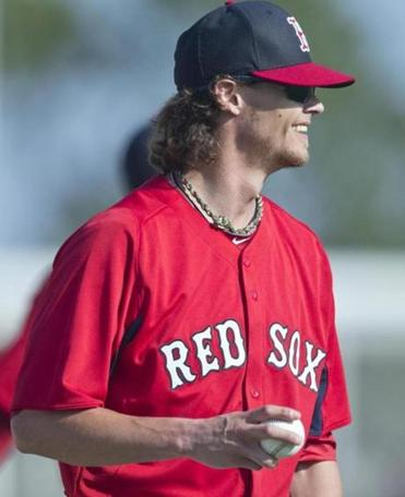 It took only 20 minutes for the Red Sox to sustain an injury in camp, to Clay Buchholz.
