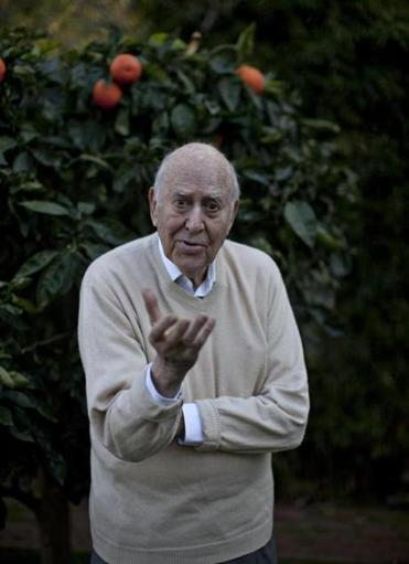 Carl Reiner, pictured last month in Beverly Hills, Calif.