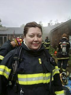 Michelle Martens was a third-generation firefighter on the Ashby force.
