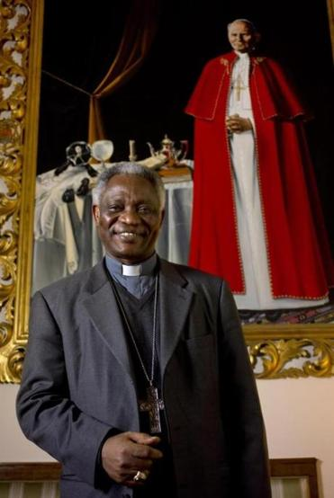 Cardinal Peter Turkson looks good to oddsmakers.