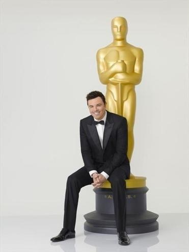 Writer/director/actor Seth MacFarlane will host the 85th annual Academy Awards on Sunday.