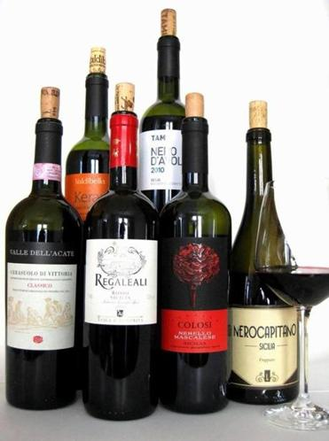 Red Wines from Sicily.