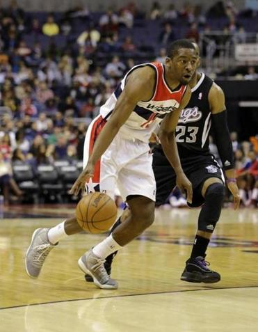 Jordan Crawford, left, most recently played for the Wizards.