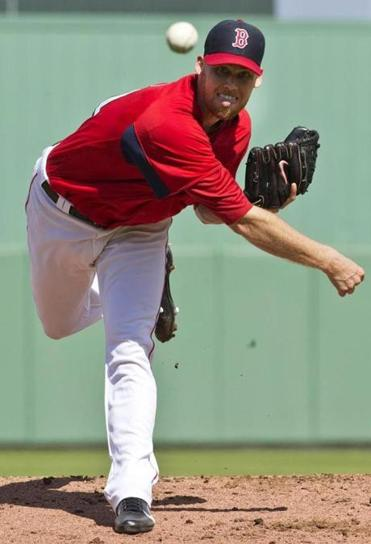 Daniel Bard is hoping to claim a spot in the Red Sox bullpen.