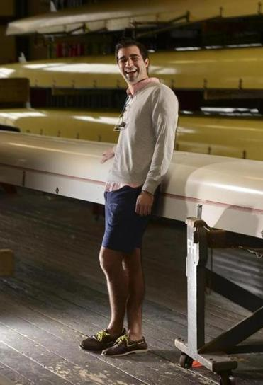 Cambridge, MA 022313 Chris Necklas (Cq)was photographed on February 16, 2013 at Harvard University's Newell Boathouse for the upcoming 2013 Boston Globe Sunday Magazine 25 Most Stylish. (Essdras M Suarez/ Globe Staff)/ MAG ASSISTANT: CECILLE AVILA