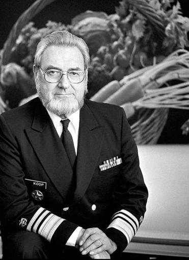 Dr. C. Everett Koop, here in 1987, was driven to be a doctor.
