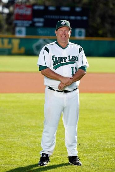 Sean O'Connor, head coach of the St. Leo University baseball team.