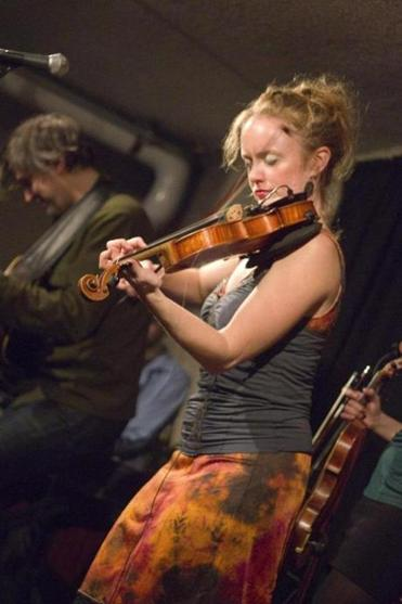 Hanneke Cassel at the 2012 Boston Celtic Music Festival.