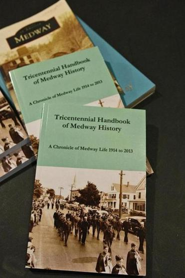 The new history handbook celebrates Medway's 300th birthday with anecdotes, facts, and vignettes.