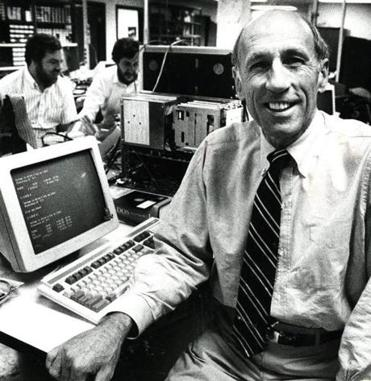 Victor Tyler was chief executive of Concord Computing, which used computers to verify checks cashed at supermarkets. The company was at the top of the first Globe 100 in 1989. It's now a unit of First Data Corp.