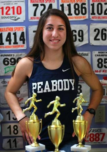 Catarina Rocha was a star during the winter track season.