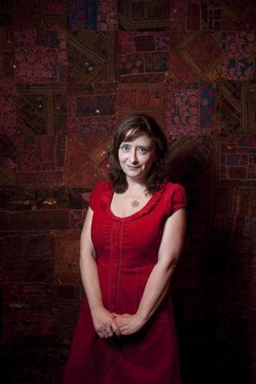 """The fun of [improv] is that you know it's being made up right then and there. To me, that's sort of the magic of it,"" says Rachel Dratch of her style of comedy."