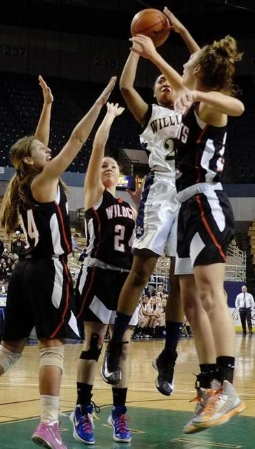 Archbishop Williams exploited its height advantage, with 6-footer Alana Gilmer netting 14 points.