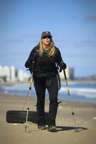 """But if it wasn't already clear to me, and it was, that failure drove home the fact that it is a deadly serious sport. It isn't a game in any way,"" said Vanessa O'Brien, who trains by dragging a tractor tire on Revere Beach to build endurance and lung capacity."