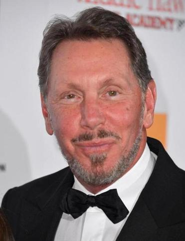 Larry Ellison is CEO of California-based Oracle.