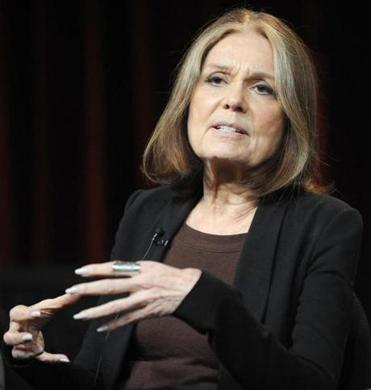 Gloria Steinem urged the Simmons College audience to remain steadfast in their fight for gender equality.