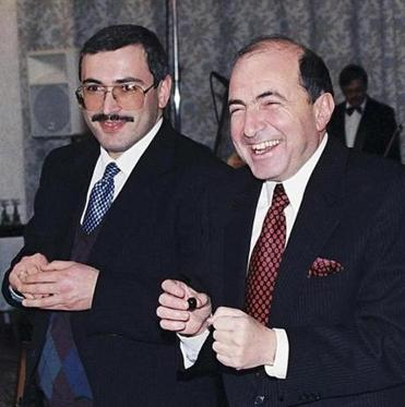 Boris Berezovsky (right) was found dead Saturday.