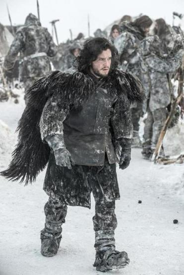 "Kit Harrington as Jon Snow in HBO's ""Game of Thrones."""