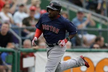 Jackie Bradley Jr. has raised his spring average to .444.