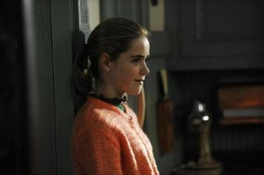 Kiernan Shipka plays young Sally Draper who, like the other characters in the show, is struggling with her identity.