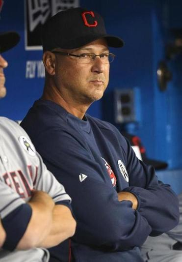 "Terry Francona said he was ""a nervous wreck."""