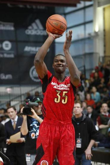 Noah Vonleh will attend Indiana University. His friend Wayne Selden will go to the University of Kansas.