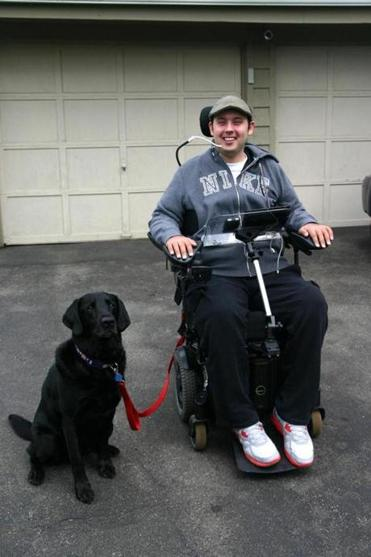 North Andover resident Chris Boshar and his new service dog, Roddy, have been developing their teamwork skills.