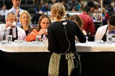 """You can make your career with the barista competition,"" said Zaida Dedolph of Chicago."