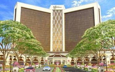 This is a website image of the proposed Wynn Philadelphia.