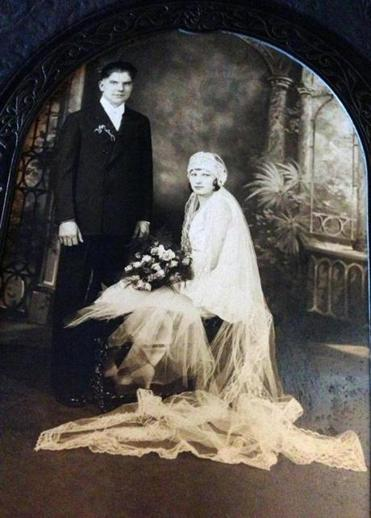 Vickie and Steve Wrubel were married on Sept. 28, 1929.
