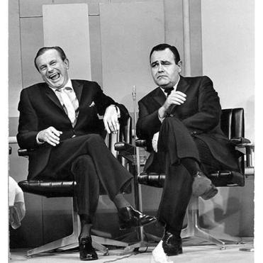 "Jonathan Winters was a popular talk-show guest. He appeared on Jack Paar's show in 1963. Before that, he starred at the Riviera in Las Vegas (right). He made a memorable appearance in ""It's a Mad, Mad, Mad Mad World"" with Ethel Merman and Dorothy Provine."