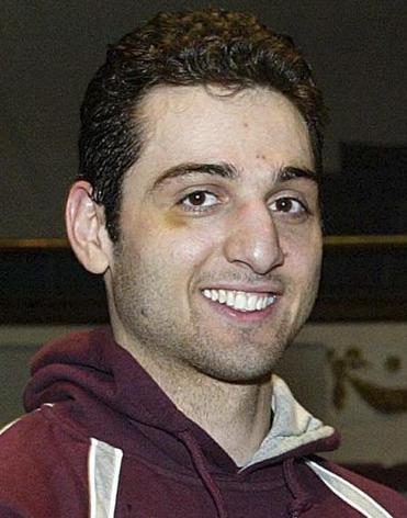 Tamerlan Tsarnaev is seen in a Feb. 17, 2010, photo after winning the 2010 New England Golden Gloves Championship.