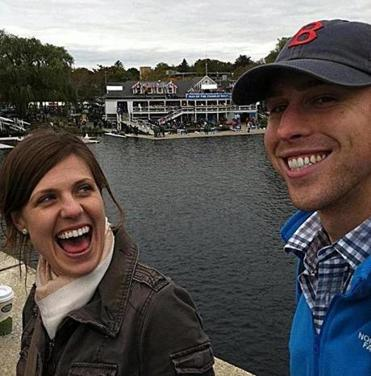Jessica Kensky Downes and Patrick Downes each lost a leg in Monday's bomb attack during the Boston Marathon.