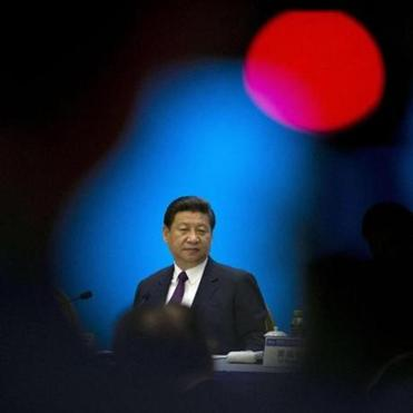 President Xi Jinping of China, shown at an April 8 meeting, has promised to increase government transparency.