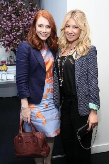 Ari Graynor (right), with Bryce Dallas Howard at the Tribeca festival Thursday.