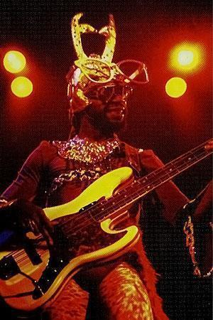 Mr. Mosson toured with the band in place of Bootsy Collins.