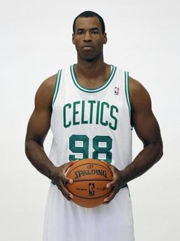 Jason Collins was with the Celtics for the first half of the 2012-13 season.