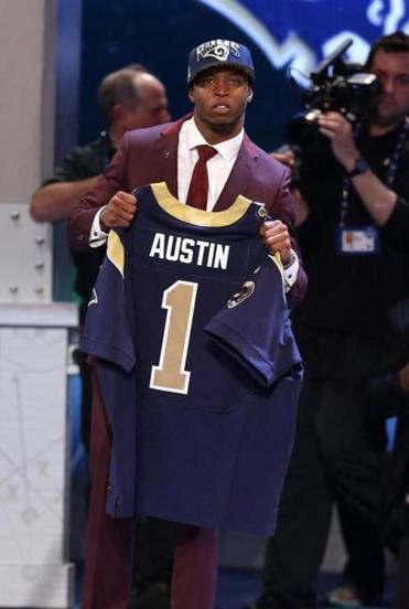 Tavon Austin was the first offensive skill position player drafted in 2013.