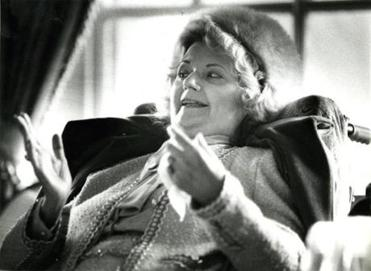 "V.C. Andrews, author of ""Flowers in the Attic."""